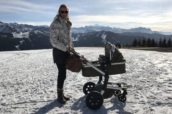 Bonne idée: op wintersportvakantie met baby in de Franse Alpen